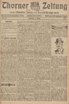 Thorner Zeitung : Ostdeutsche Zeitung und General-Anzeiger. 1906, Nr. 252 (27 Oktober) + dod.