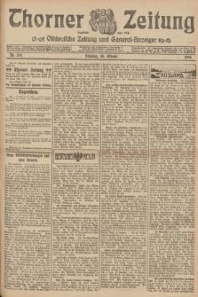 Thorner Zeitung : Ostdeutsche Zeitung und General-Anzeiger. 1906, Nr. 254 (30 Oktober) + dod.