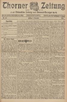 Thorner Zeitung : Ostdeutsche Zeitung und General-Anzeiger. 1906, Nr. 257 (2 November) + dod.