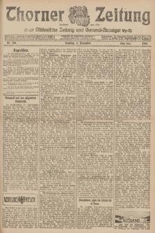 Thorner Zeitung : Ostdeutsche Zeitung und General-Anzeiger. 1906, Nr. 259 (4 November) - Erstes Blatt + dod.