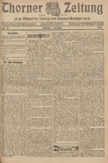 Thorner Zeitung : Ostdeutsche Zeitung und General-Anzeiger. 1906, Nr. 261 (7 November) + dod.