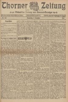 Thorner Zeitung : Ostdeutsche Zeitung und General-Anzeiger. 1906, Nr. 262 (8 November) + dod.
