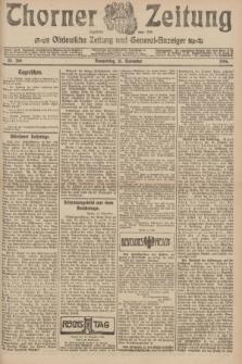 Thorner Zeitung : Ostdeutsche Zeitung und General-Anzeiger. 1906, Nr. 268 (15 November) + dod.