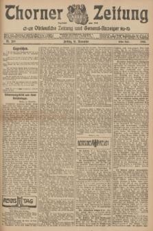 Thorner Zeitung : Ostdeutsche Zeitung und General-Anzeiger. 1906, Nr. 269 (16 November) - Erstes Blatt + dod.