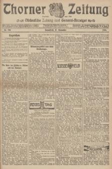 Thorner Zeitung : Ostdeutsche Zeitung und General-Anzeiger. 1906, Nr. 270 (17 November) + dod.