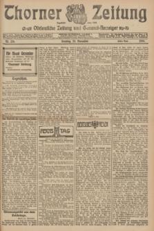Thorner Zeitung : Ostdeutsche Zeitung und General-Anzeiger. 1906, Nr. 276 (25 November) - Erstes Blatt + dod.