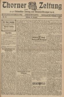 Thorner Zeitung : Ostdeutsche Zeitung und General-Anzeiger. 1906, Nr. 278 (28 November) + dod.