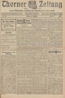 Thorner Zeitung : Ostdeutsche Zeitung und General-Anzeiger. 1906, Nr. 280 (30 November) - Erstes Blatt + dod.