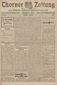 Thorner Zeitung : Ostdeutsche Zeitung und General-Anzeiger. 1906, Nr. 281 (1 Dezember) + dod.