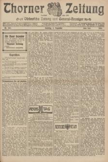 Thorner Zeitung : Ostdeutsche Zeitung und General-Anzeiger. 1906, Nr. 282 (2 Dezember) - Erstes Blatt + dod.