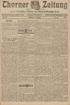 Thorner Zeitung : Ostdeutsche Zeitung und General-Anzeiger. 1906, Nr. 287 (8 Dezember) - Erstes Blatt