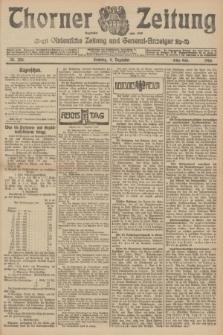 Thorner Zeitung : Ostdeutsche Zeitung und General-Anzeiger. 1906, Nr. 288 (9 Dezember) - Erstes Blatt + dod.