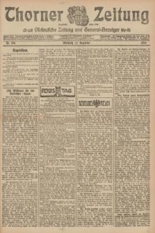 Thorner Zeitung : Ostdeutsche Zeitung und General-Anzeiger. 1906, Nr. 290 (12 Dezember) + dod.