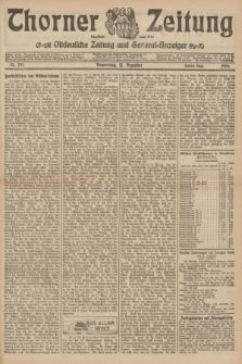 Thorner Zeitung : Ostdeutsche Zeitung und General-Anzeiger. 1906, Nr. 291 (13 Dezember) - Zweites Blatt