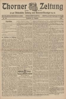 Thorner Zeitung : Ostdeutsche Zeitung und General-Anzeiger. 1906, Nr. 293 (15 Dezember) + dod.