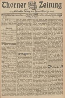 Thorner Zeitung : Ostdeutsche Zeitung und General-Anzeiger. 1906, Nr. 297 (20 Dezember) - Erstes Blatt + dod.