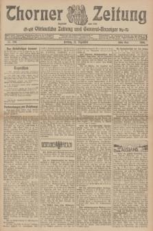 Thorner Zeitung : Ostdeutsche Zeitung und General-Anzeiger. 1906, Nr. 298 (21 Dezember) - Erstes Blatt + dod.