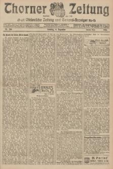 Thorner Zeitung : Ostdeutsche Zeitung und General-Anzeiger. 1906, Nr. 288 (9 Dezember) - Zweites Blatt