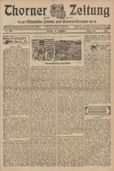 Thorner Zeitung : Ostdeutsche Zeitung und General-Anzeiger. 1906, Nr. 294 (16 Dezember) - Zweites Blatt