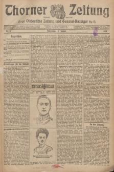 Thorner Zeitung : Ostdeutsche Zeitung und General-Anzeiger. 1907, Nr. 2 (3 Jannar) + dodatek