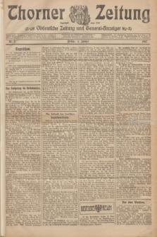 Thorner Zeitung : Ostdeutsche Zeitung und General-Anzeiger. 1907, Nr. 3 (4 Jannar) + dodatek