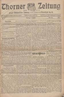 Thorner Zeitung : Ostdeutsche Zeitung und General-Anzeiger. 1907, Nr. 5 (6 Jannar) - Erstes Blatt + dodatek