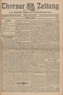 Thorner Zeitung : Ostdeutsche Zeitung und General-Anzeiger. 1907, Nr. 7 (9 Jannar) + dodatek