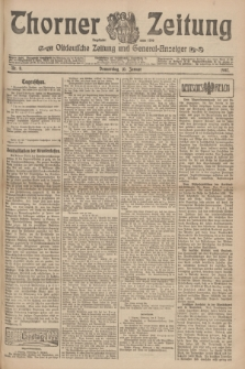 Thorner Zeitung : Ostdeutsche Zeitung und General-Anzeiger. 1907, Nr. 8 (10 Januar) + dod.