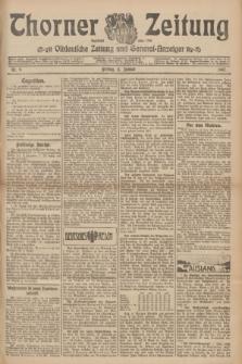 Thorner Zeitung : Ostdeutsche Zeitung und General-Anzeiger. 1907, Nr. 9 (11 Jannar) + dodatek