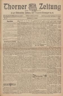Thorner Zeitung : Ostdeutsche Zeitung und General-Anzeiger. 1907, Nr. 10 (12 Jannar) + dodatek