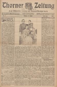 Thorner Zeitung : Ostdeutsche Zeitung und General-Anzeiger. 1907, Nr. 12 (15. Januar) - Zweites Blatt