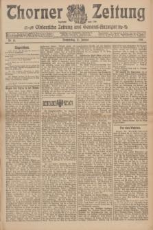 Thorner Zeitung : Ostdeutsche Zeitung und General-Anzeiger. 1907, Nr. 14 (17 Jannar) + dodatek