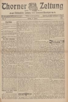 Thorner Zeitung : Ostdeutsche Zeitung und General-Anzeiger. 1907, Nr. 15 (18 Jannar) + dodatek