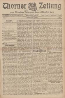Thorner Zeitung : Ostdeutsche Zeitung und General-Anzeiger. 1907, Nr. 16 (19 Jannar) + dodatek