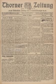 Thorner Zeitung : Ostdeutsche Zeitung und General-Anzeiger. 1907, Nr. 17 (20 Jannar) - Zweites Blatt