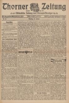 Thorner Zeitung : Ostdeutsche Zeitung und General-Anzeiger. 1907, Nr. 18 (22 Jannar) + dodatek