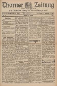 Thorner Zeitung : Ostdeutsche Zeitung und General-Anzeiger. 1907, Nr. 19 (23 Jannar) + dodatek