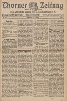 Thorner Zeitung : Ostdeutsche Zeitung und General-Anzeiger. 1907, Nr. 20 (24 Jannar) + dodatek