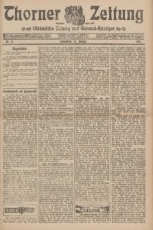 Thorner Zeitung : Ostdeutsche Zeitung und General-Anzeiger. 1907, Nr. 22 (26 Jannar) + dodatek