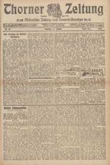 Thorner Zeitung : Ostdeutsche Zeitung und General-Anzeiger. 1907, Nr. 23 (27 Jannar) - Zweites Blatt