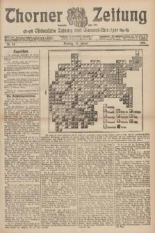 Thorner Zeitung : Ostdeutsche Zeitung und General-Anzeiger. 1907, Nr. 24 (29 Jannar) + dodatek
