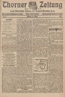 Thorner Zeitung : Ostdeutsche Zeitung und General-Anzeiger. 1907, Nr. 25 (30 Jannar) + dodatek