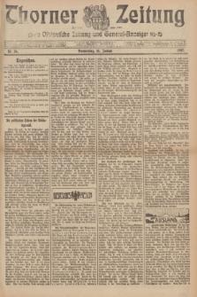 Thorner Zeitung : Ostdeutsche Zeitung und General-Anzeiger. 1907, Nr. 26 (31 Januar) + dod.