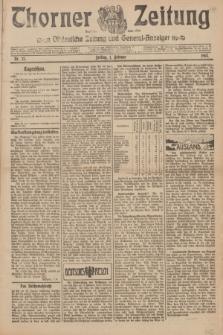 Thorner Zeitung : Ostdeutsche Zeitung und General-Anzeiger. 1907, Nr. 27 (1 Februar) + dodatek