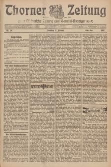Thorner Zeitung : Ostdeutsche Zeitung und General-Anzeiger. 1907, Nr. 29 (3 Februar) - Erstes Blatt + dodatek