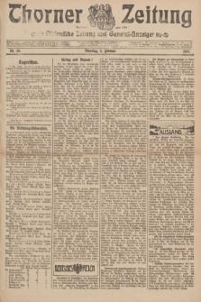 Thorner Zeitung : Ostdeutsche Zeitung und General-Anzeiger. 1907, Nr. 30 (5 Februar) + dod.