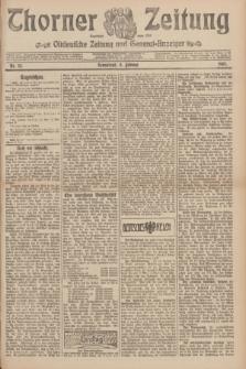 Thorner Zeitung : Ostdeutsche Zeitung und General-Anzeiger. 1907, Nr. 34 (9 Februar) + dodatek