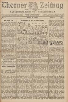 Thorner Zeitung : Ostdeutsche Zeitung und General-Anzeiger. 1907, Nr. 35 (10 Februar) - Zweites Blatt