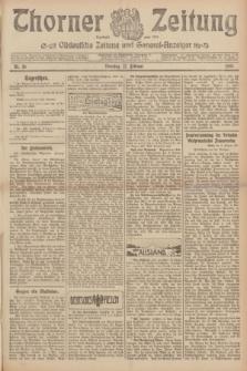 Thorner Zeitung : Ostdeutsche Zeitung und General-Anzeiger. 1907, Nr. 36 (12 Februar) + dodatek