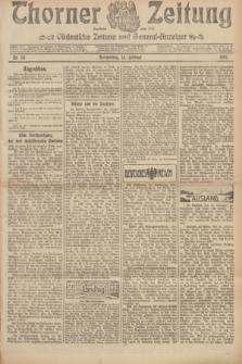Thorner Zeitung : Ostdeutsche Zeitung und General-Anzeiger. 1907, Nr. 38 (14 Februar) + dod.